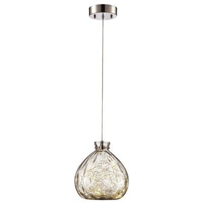 Pickell 1-Light Mini Pendant