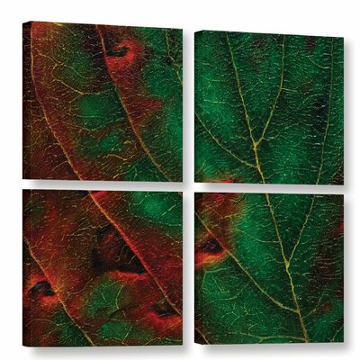Axioma V 4 Piece Painting Print on Wrapped Canvas Set