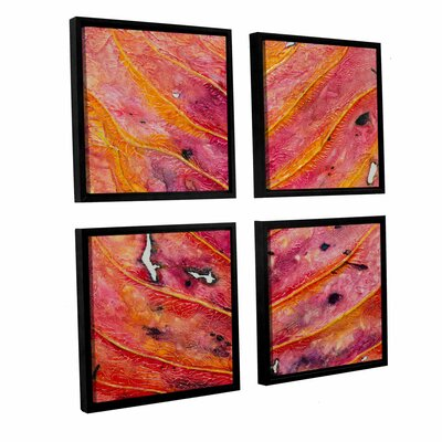 Axioma VII 4 Piece Framed Painting Print on Canvas Set