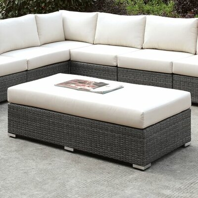 Peters Outdoor Rattan Bench
