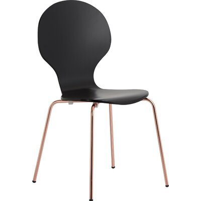 Vanarsdale Side Chair Finish: Black