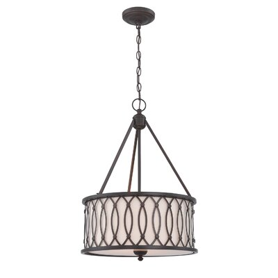 Radel 1-Light Drum Pendant