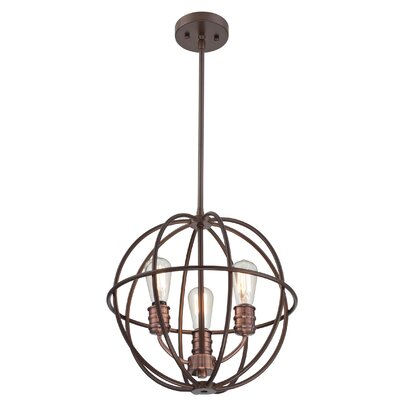 Arce 3-Light Foyer Pendant