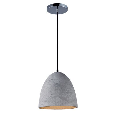 Olszewski 1-Light Steel Mini Pendant