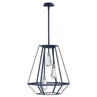 Racette 3-Light Foyer Pendant