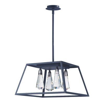 Racette 4-Light Foyer Pendant
