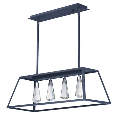 Racette 4-Light Kitchen Island Pendant