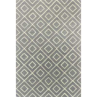 Oliverio Hand-Tufted Platinum Area Rug