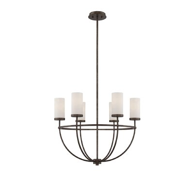 Sophocles 6-Light Shaded Chandelier