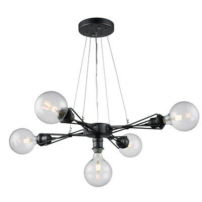 Solon 5-Light Cluster Pendant