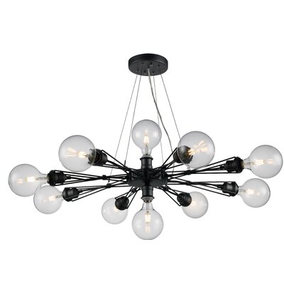 Solon 10-Light Cluster Pendant