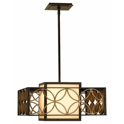 Carreiro 2-Light Drum Pendant