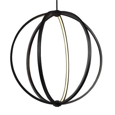 Brayden Studio Krell Globe Pendant