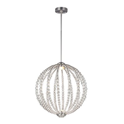 Coss 2-Light Globe Pendant