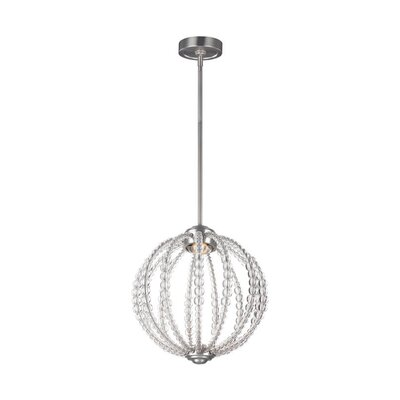 Coss 1-Light Globe Pendant
