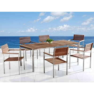 Trosclair 7 Piece Dining Set