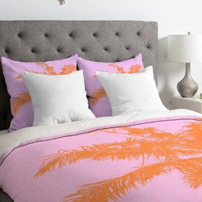 Trott  Palm Duvet Cover Size: King