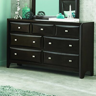 Beck 7 Drawer Standard Dresser