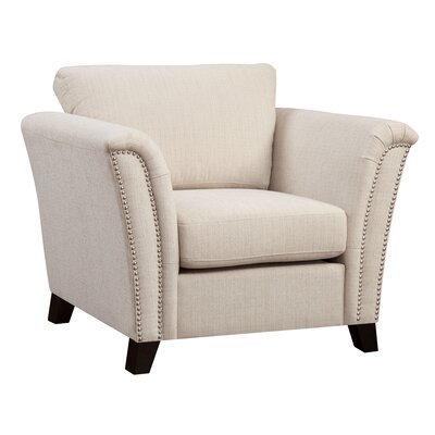 Alldredge Armchair Upholstery: Ivory