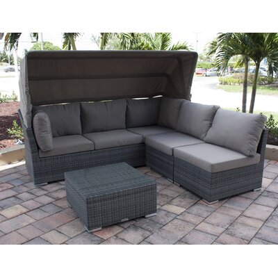 Trueman 4 Piece Daybed Set