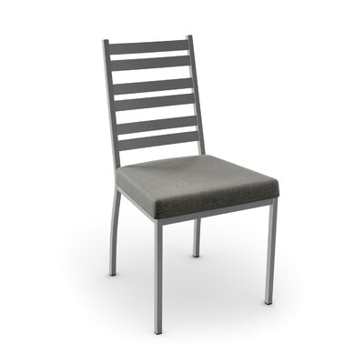 Lovato Side Chair Finish: Glossy Grey/Medium Grey