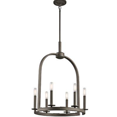 Mcalister 6-Light Candle-Style Chandelier