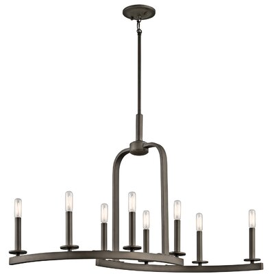 Mcalister 8-Light Candle-Style Chandelier