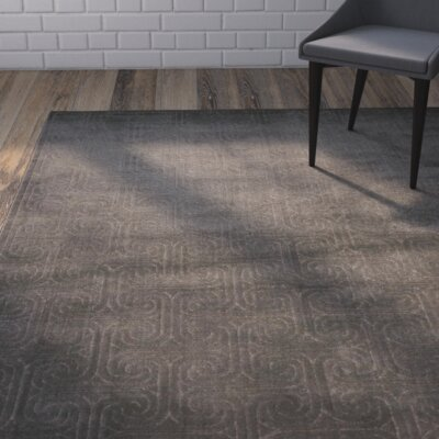 Manske Dark Gray Area Rug