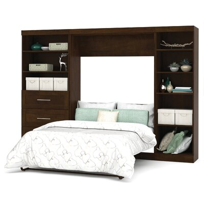 Walley Murphy Bed Finish: Chocolate