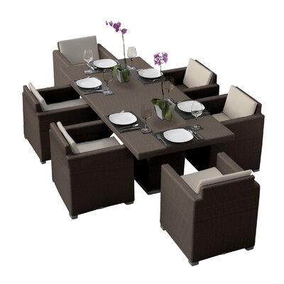 Tasteful Dining Set Cushions Westcott - Product picture - 3542