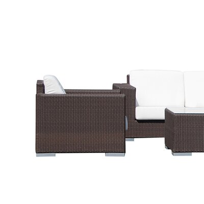 Hicklin 5 Piece Deep Seating Group with Cushion