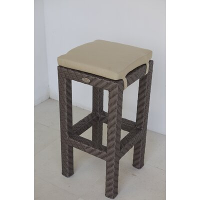 Hicklin 29 Bar Stool with Cushion