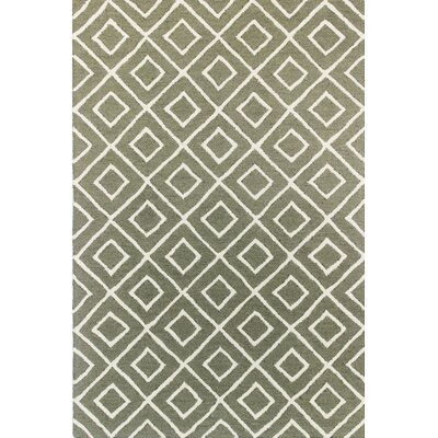 Myatt Hand Tufted Wool Sage Area Rug