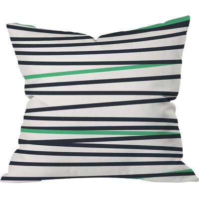 Banda Stripe Cool Indoor/Outdoor Throw Pillow Size: 20 H x 20 W