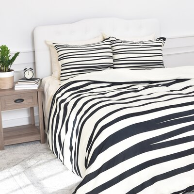 Banda Stripe Duvet Set Size: King