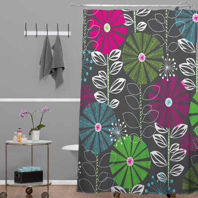 Banda Town Blooms Shower Curtain