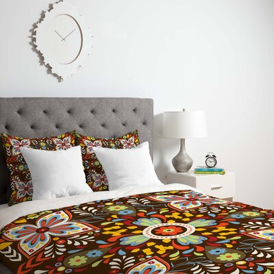 Banda Wanderlust Duvet Cover Size: King, Fabric: Lightweight