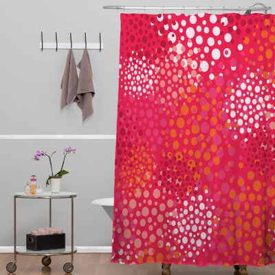 Banda Brady Dots 2 Shower Curtain