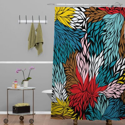 Banda Woven Cover Shower Curtain