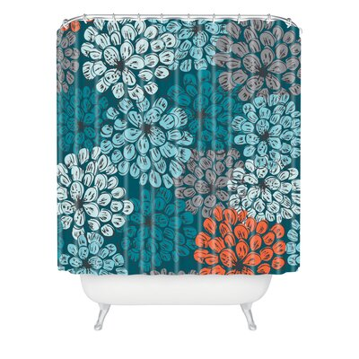 Banda Greenwich Gardens 3 Extra Long Shower Curtain