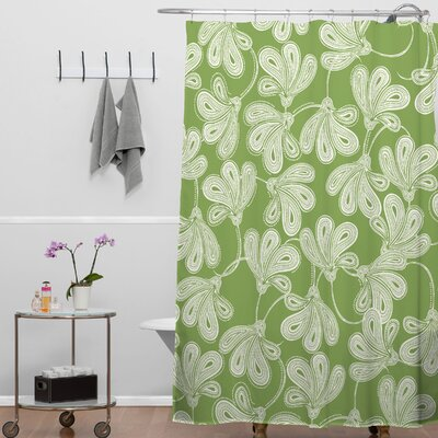 Banda Provencal Thyme Shower Curtain