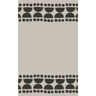 Gerner Hand-Woven Lilac/Ivory Area Rug Rug size: 2' x 3'