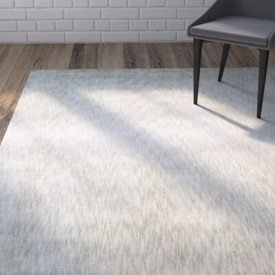 Metro Ivory Area Rug Rug Size: Rectangle 56 x 86