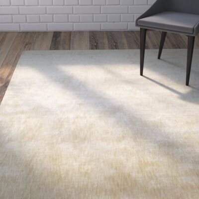 Metro Beige Area Rug Rug Size: Rectangle 56 x 86
