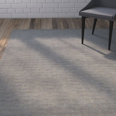 Larissa Light Gray Area Rug Rug Size: Rectangle 36 x 56