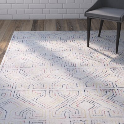 Fort Hamilton Hand-Tufted Ivory Area Rug