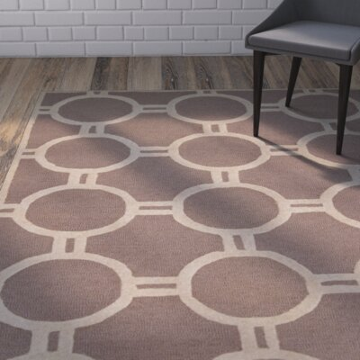 Harbin Beige/Ivory Area Rug Rug Size: Rectangle 4 x 6