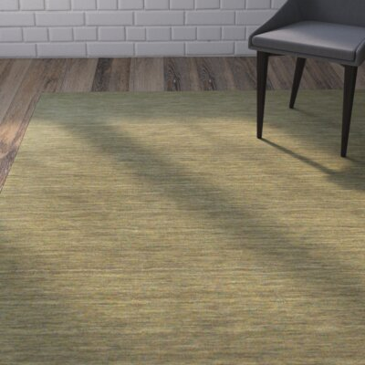 Larissa Light Green Area Rug Rug Size: Rectangle 36 x 56