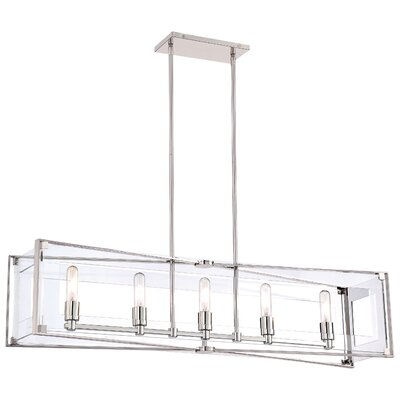Ealy 5-Light Kitchen Island Pendant