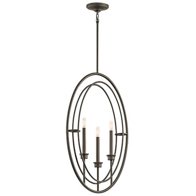 Corchado 3-Light Foyer Pendant